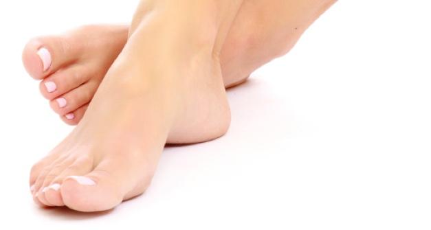 Baby Feet Resting
