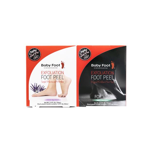 Original Foot Peel and Mens Foot Peel