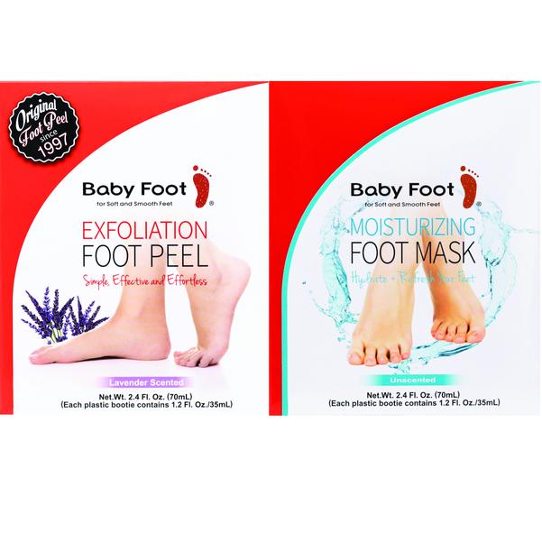 Exfoliation Foot Peel  Moisturizing Mask Bundle