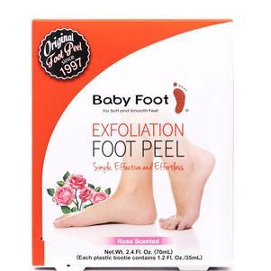 Baby Foot Original Exfoliation Foot Peel - Rose Scented